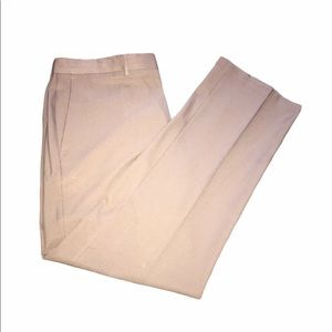 haggar polyester dress pants tan 38x32
